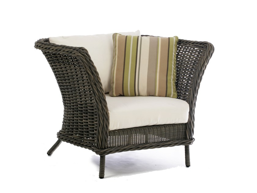 Garden armchair with armrests BALI | Garden armchair - 7OCEANS DESIGNS