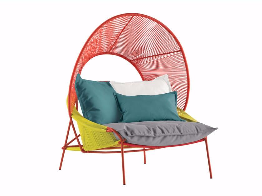 Garden armchair THE TRAVELER | Garden armchair - ROCHE BOBOIS
