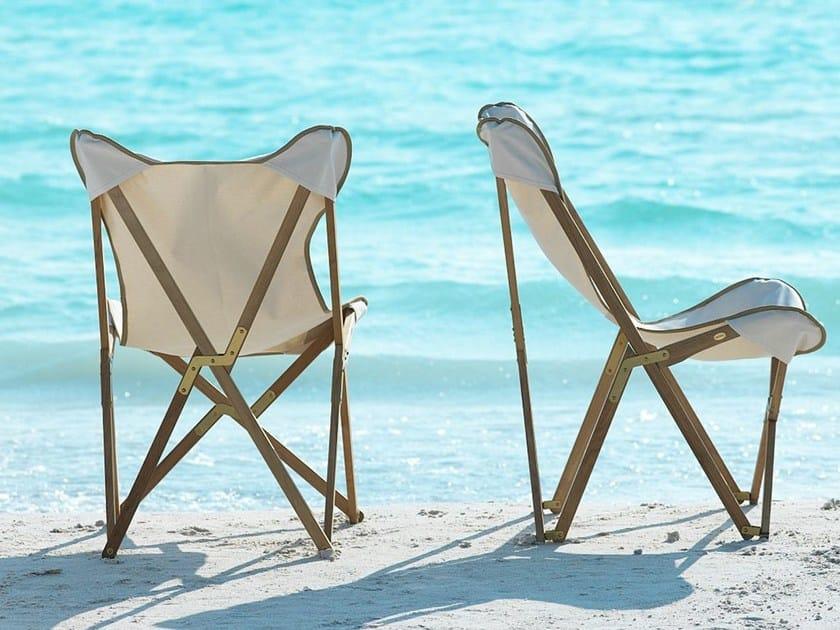 Teak garden armchair EMY | Garden armchair by Unopiù