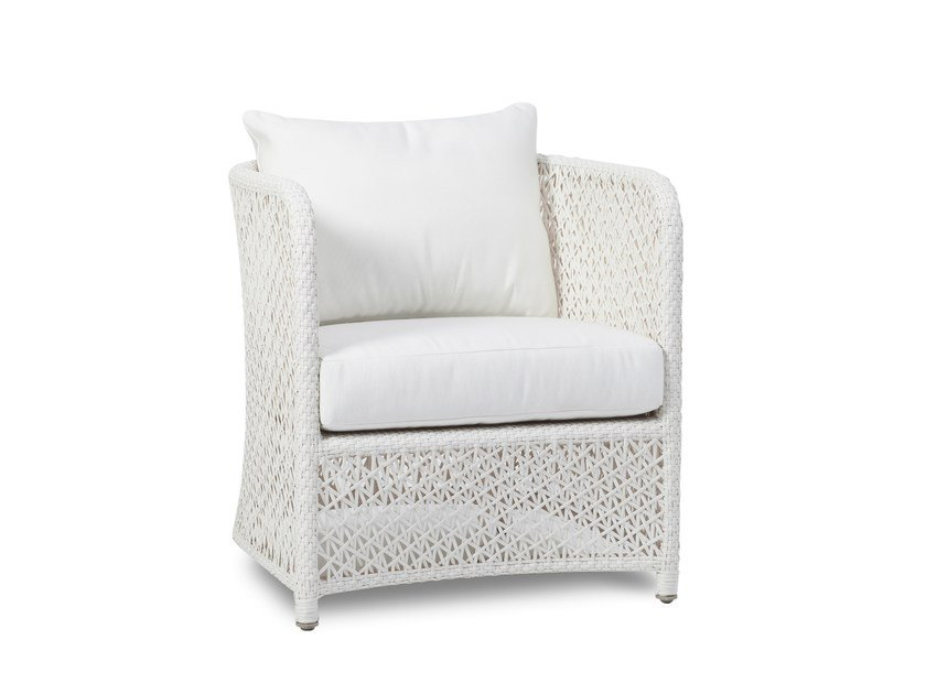 Garden armchair with armrests TUSCANY | Garden armchair with armrests - 7OCEANS DESIGNS