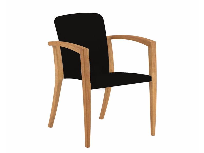 Fabric garden chair with armrests ZIDIZ | Garden chair - ROYAL BOTANIA