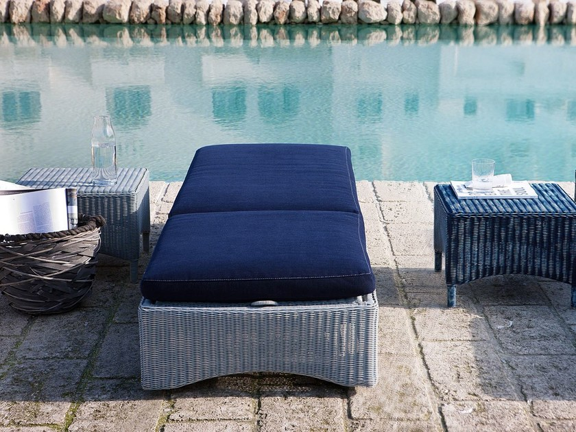 Fabric daybed cushion CAPRI | Daybed cushion by Unopiù