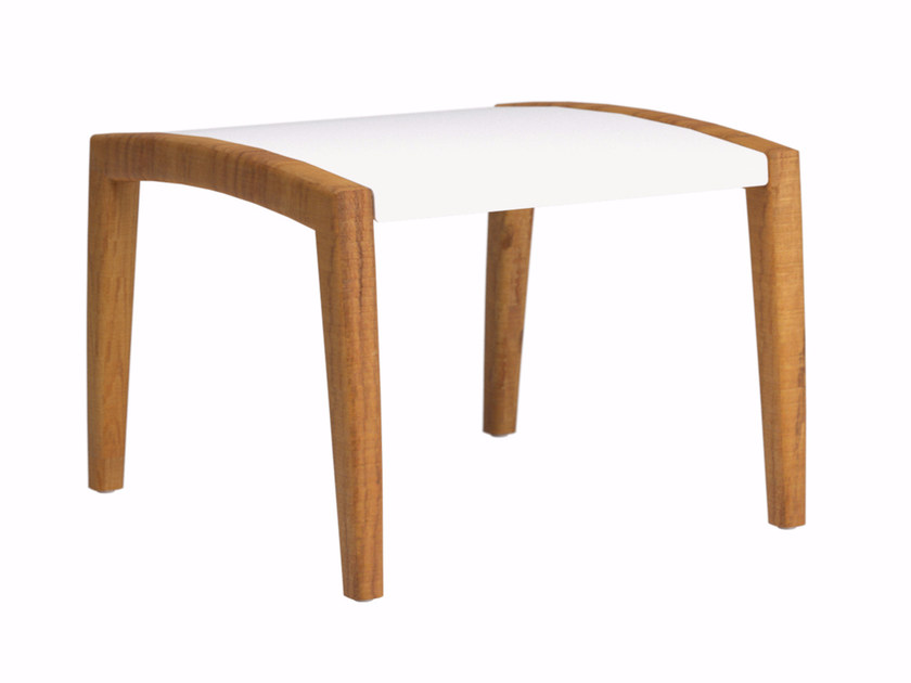 Rectangular aluminium garden footstool ZIDIZ   Garden footstool by ROYAL BOTANIA