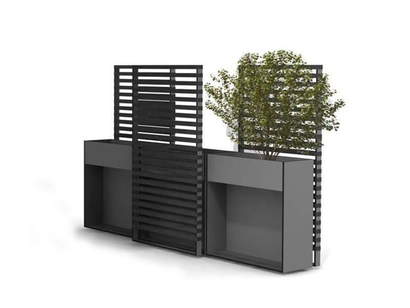 Schermo divisorio da giardino in hpl ticino schermo for Divisori giardino