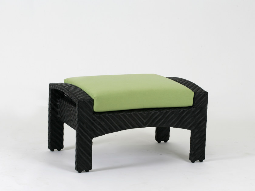 Rectangular garden footstool CEDAR | Garden footstool by 7OCEANS DESIGNS