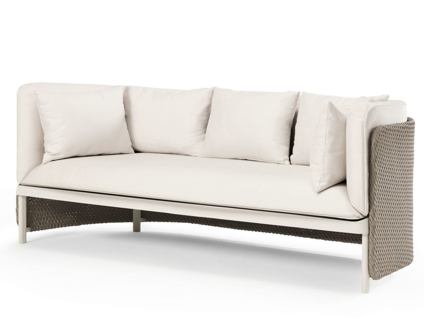 3 seater fabric garden sofa ESEDRA | Garden sofa - Ethimo