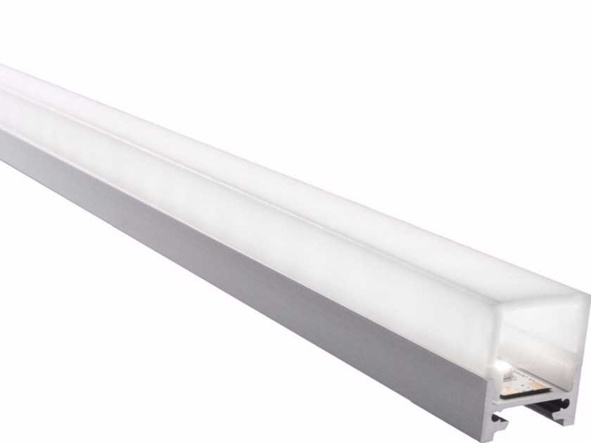 Ceiling mounted aluminium lighting profile for LED modules GARL - GLIP by S.I.L.E