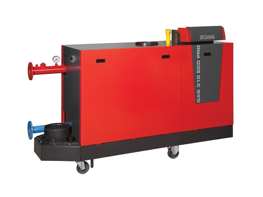 Floor-standing condensation boiler REMEHA GAS 310 ECO PRO - REVIS