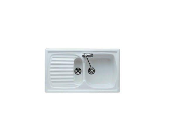 1 1/2 bowl built-in sink with drainer GENIUS | Sink - GALASSIA