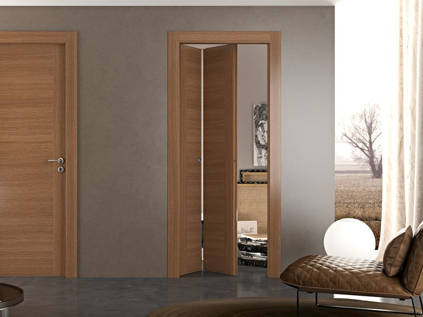Folding wooden door GEO | Folding door - Pail Serramenti