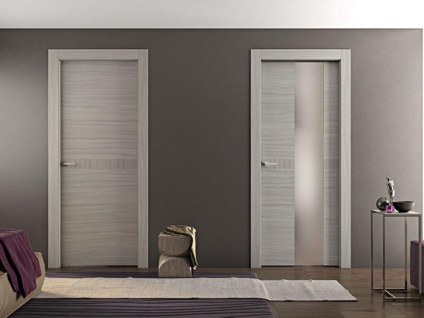 Hinged wooden door GEO | Hinged door by Pail Serramenti