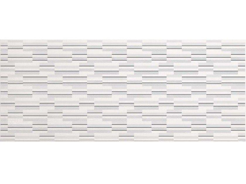 White-paste wall tiles GEOMETRICO WHITE by CERAMICHE BRENNERO