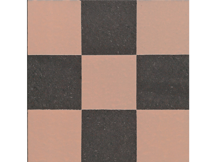 Lava stone wall/floor tiles GEOMETRIE G1 by Made a Mano