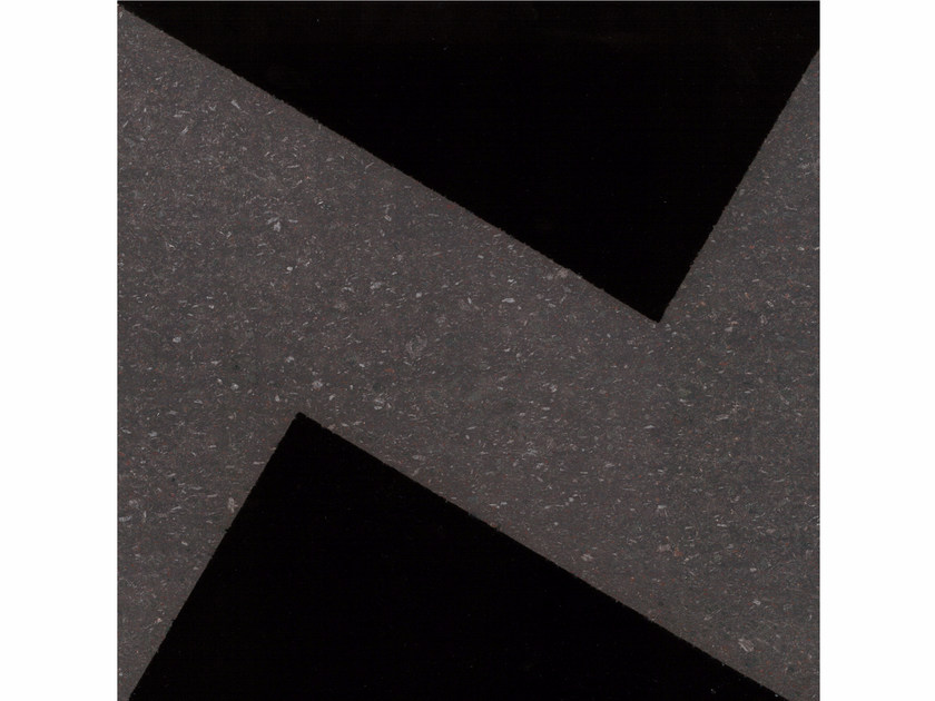Lava stone wall/floor tiles GEOMETRIE G7 by Made a Mano