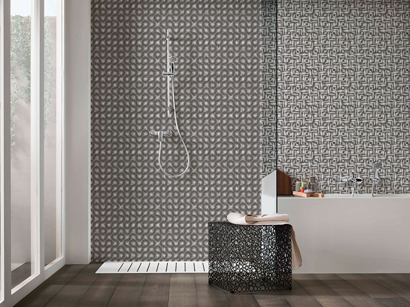 Motif panoramic wallpaper GEOMETRY by Inkiostro Bianco