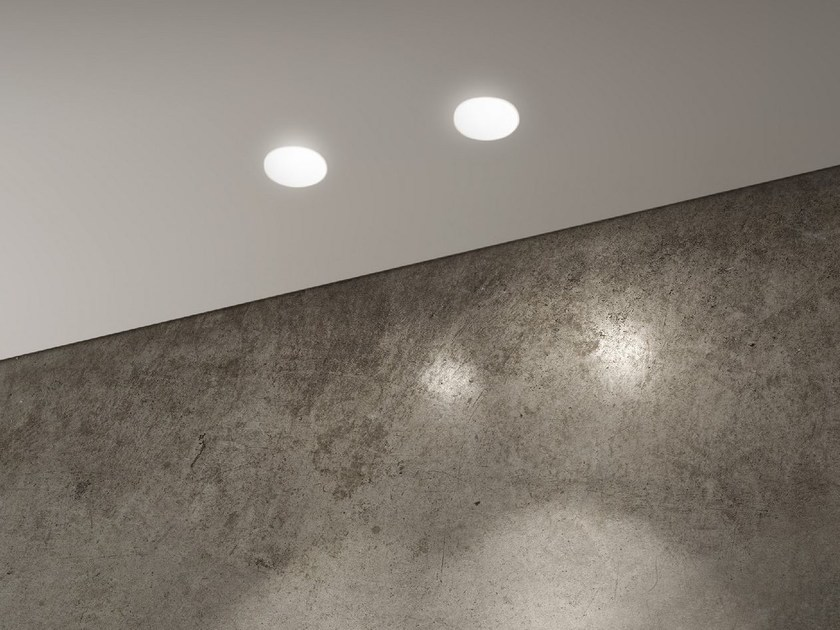 LED round ceiling gypsum spotlight GHOST ROUND - Olev by CLM Illuminazione