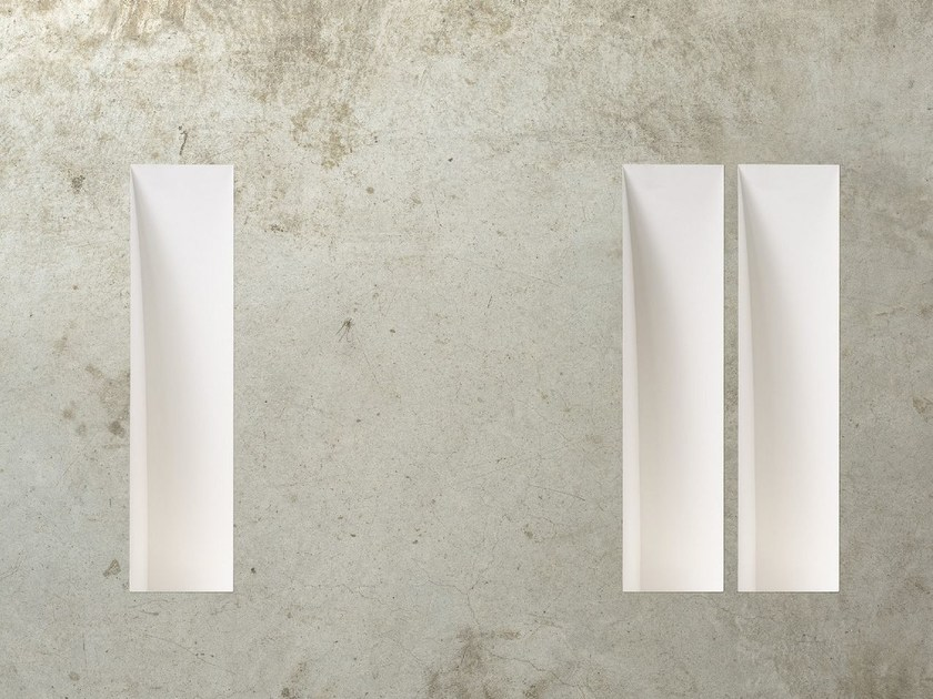 LED wall-mounted gypsum steplight GHOST WALL - Olev by CLM Illuminazione