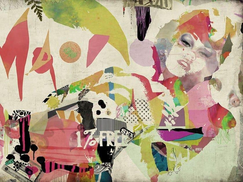 Fiberglass textile wallpaper GI-08 - MOMENTI di Bagnai Matteo
