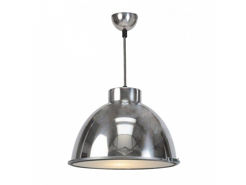 Glass and aluminium pendant lamp with dimmer GIANT 0 - Original BTC