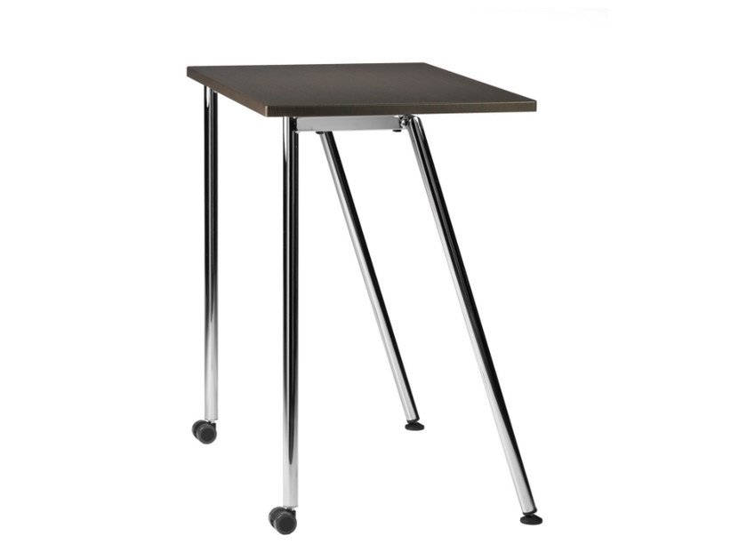 Modular school desk with casters GIKO 750 R - TALIN