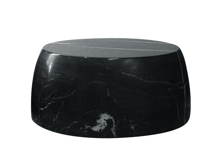 Tavolino basso rotondo in marmo da salotto GILLES CAFFIER | Tavolino by CFOC