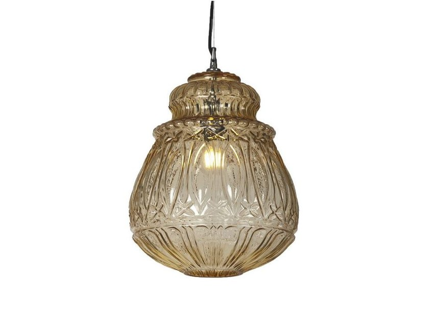Glass pendant lamp GINGER | 3 by Karman