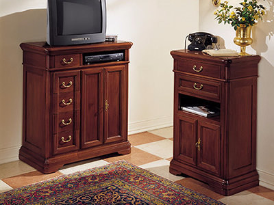 Free standing solid wood hallway unit GIOTTO   Hallway unit - Arvestyle