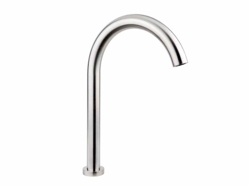 Deck-mounted stainless steel sink spout GIOTTO | Deck-mounted spout - MINA