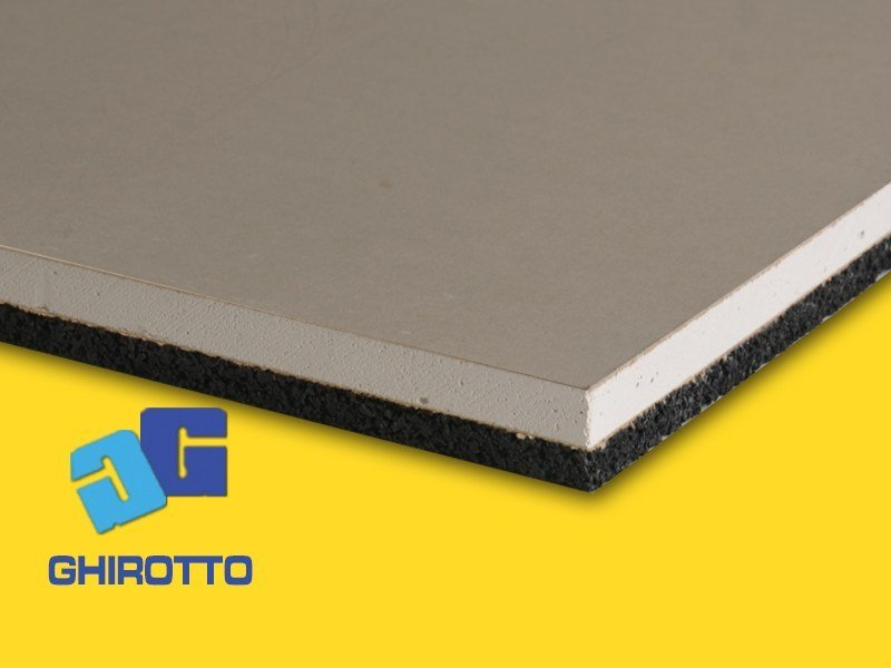 Sound insulation panel GIPS RUBBER - GHIROTTO TECNO INSULATION