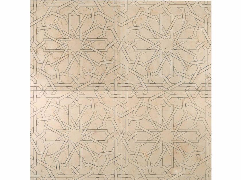 Marble wall tiles ORIENTAL ECHOES - GIRIH - Lithos Mosaico Italia - Lithos
