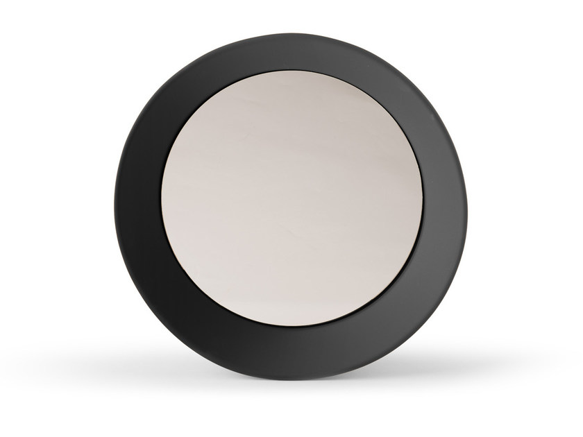 Round wall-mounted framed mirror GIROTONDO - Atipico