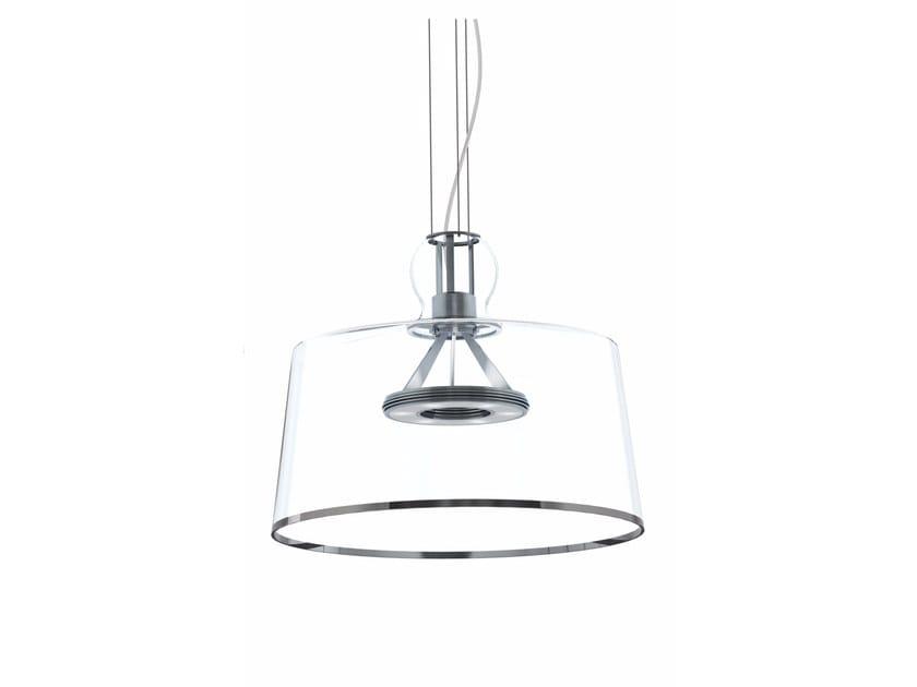 Blown glass pendant lamp GIUBILO 25 YEARS EDITION - Produzione Privata