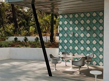 Motif outdoor wallpaper GIUNCO by Wall&decò