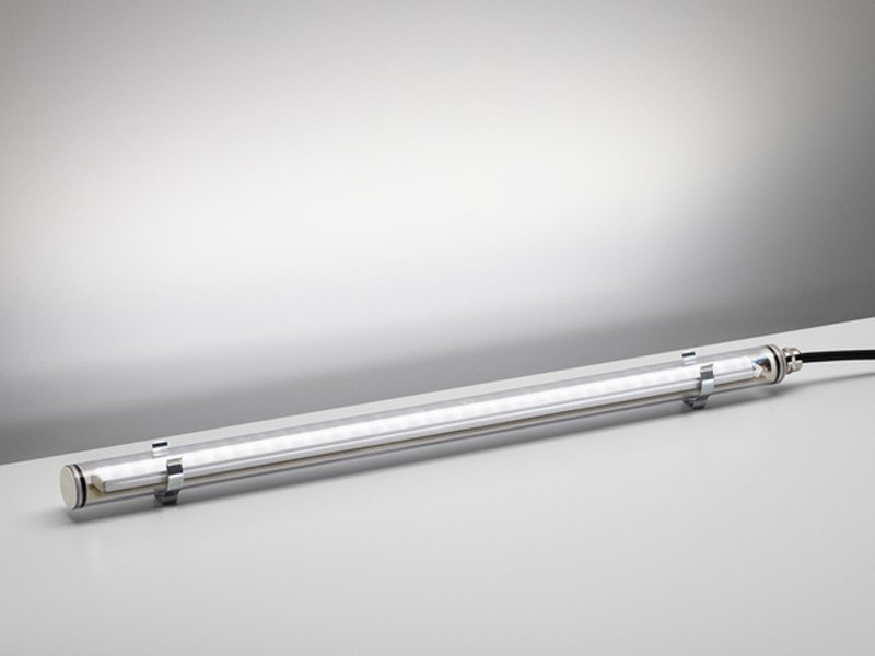 Linear outdoor LED light bar Gladio - PURALUCE