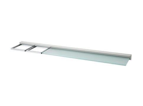 Glass bathroom wall shelf NEW EUROPE | Glass bathroom wall shelf - INDA®