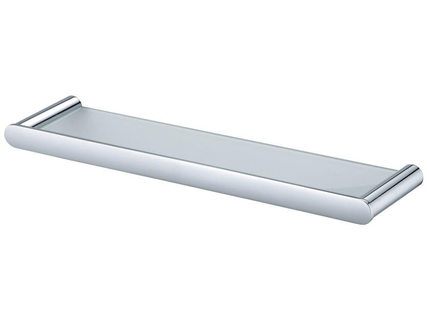 Glass bathroom wall shelf CHARMING | Glass bathroom wall shelf by JUSTIME