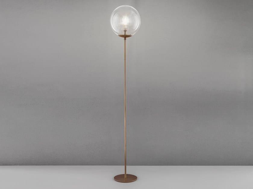 Metal floor lamp GLOBAL H 170 – Ø 30 by Metal Lux