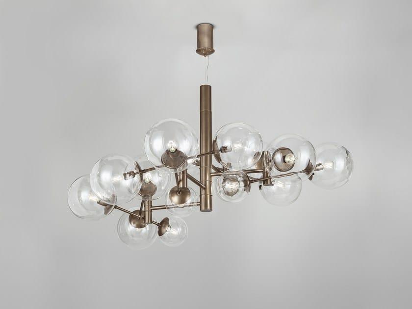 Metal pendant lamp GLOBAL Ø 150 by Metal Lux