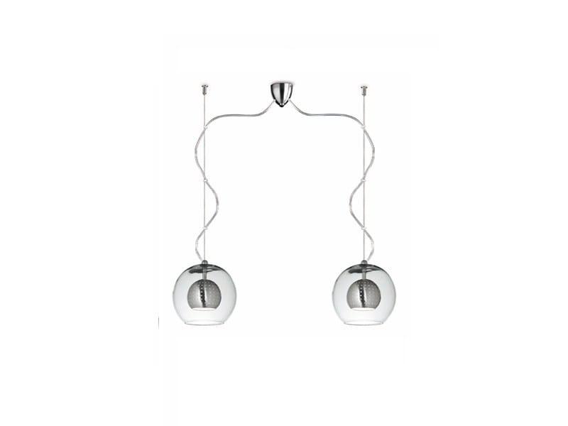 Blown glass pendant lamp GLOBE | Blown glass pendant lamp - ALMA LIGHT