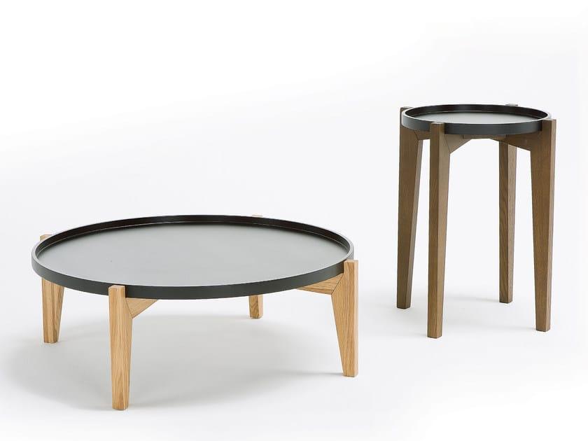Low round coffee table GLOBEN - Egoitaliano