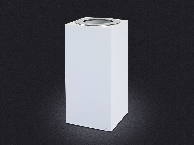 Resin bathroom waste bin GLOSS SMALL | Resin bathroom waste bin - Vallvé Bathroom Boutique