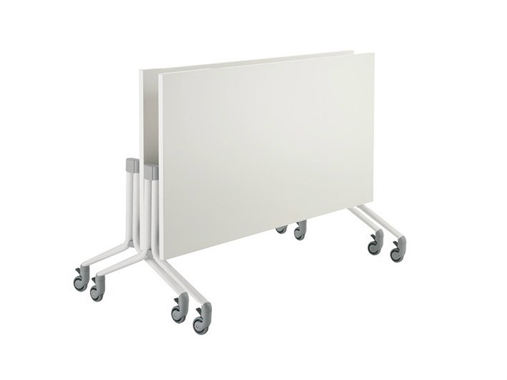 Folding meeting table with casters GO-LITE | Meeting table by Sesta