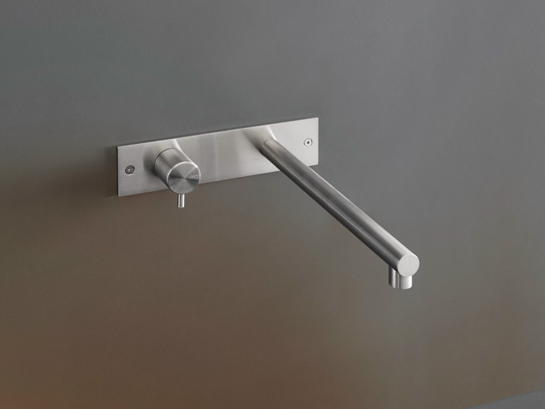 Wall mounted hydroprogressive mixer GRA 02 by Ceadesign