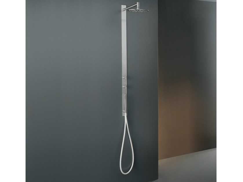 Hydroprogressive shower set with adjustable shower head GRA 07 by Ceadesign
