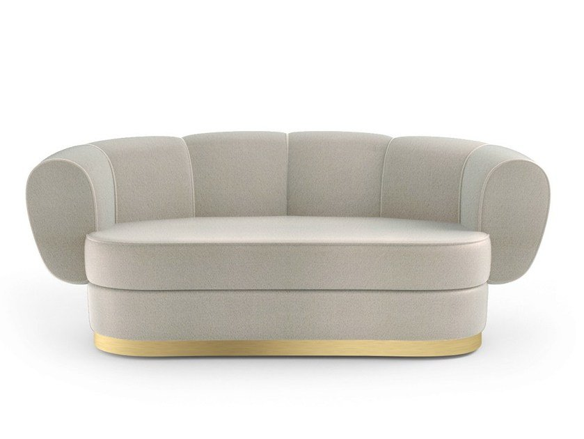 2 seater fabric sofa GRACE | 2 seater sofa by MARIONI