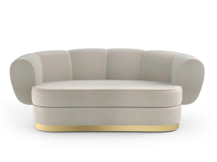 2 seater fabric sofa GRACE | 2 seater sofa - MARIONI