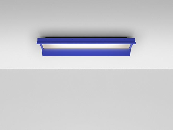 LED direct light aluminium ceiling lamp GRADIAN 1200 X 300 | Ceiling lamp by Artemide