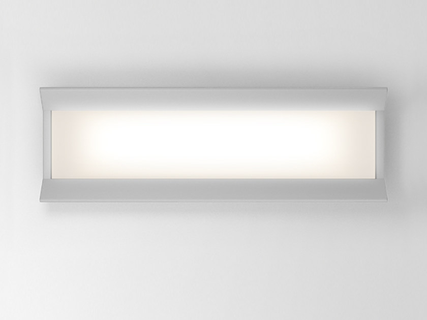 LED direct light aluminium wall lamp GRADIAN 1200 X 300 | Wall lamp by Artemide