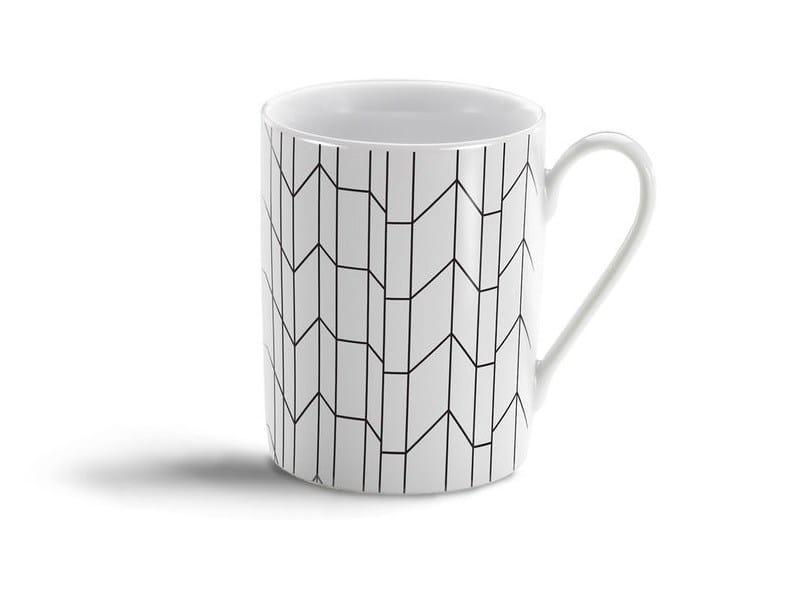 Porcelain espresso cup GRAPH MUG by Vitra