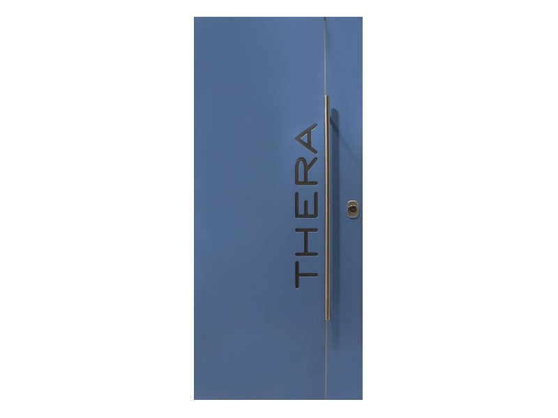 Door panel for outdoor use GRAPHICS OUT THERA - Metalnova
